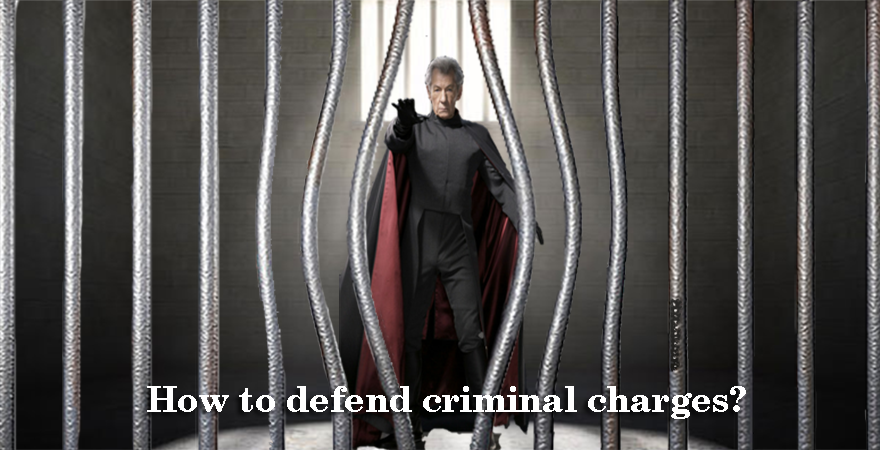 How to defend criminal charges