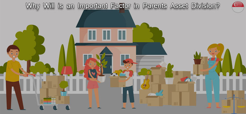 Why Will is an important factor in parents asset division?