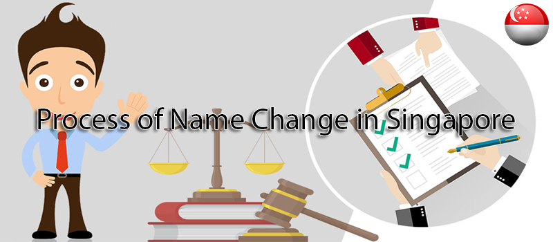 Process of name change in Singapore